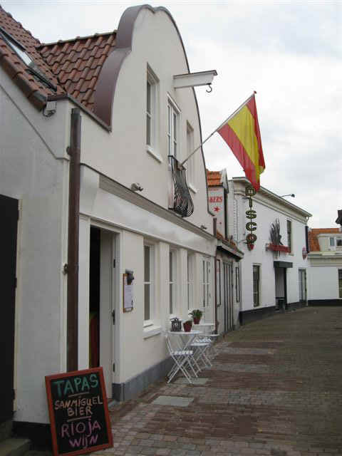 "Casa Molero de ""bar de tapas"" op Texel"